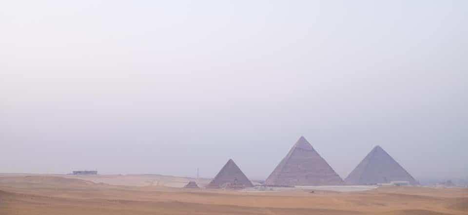 Genevieve-Hathaway_Giza-Pyramids-and-desert_at-sunset-min
