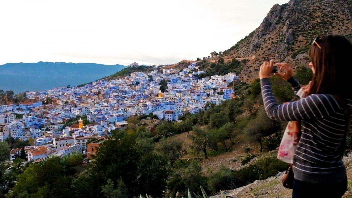 Katherine-Photographing-Chefchaouen