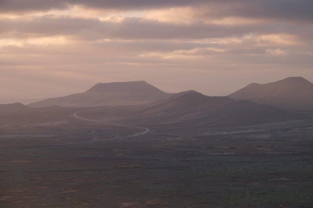 Sunrise on Fuerteventura.