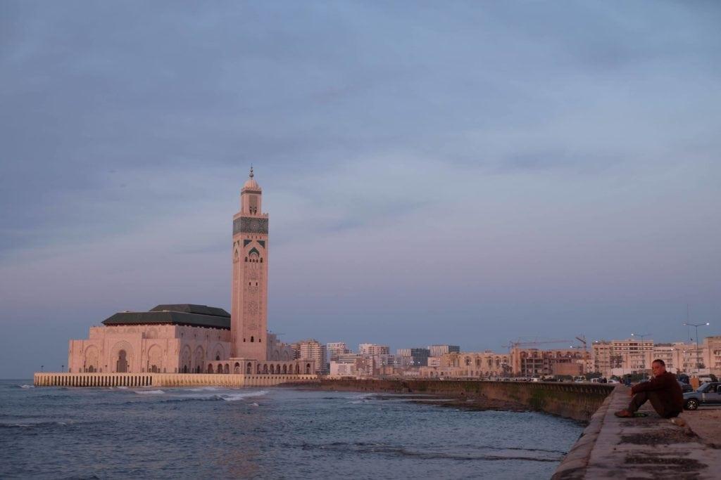 Casablanca's Hassan II Mosque