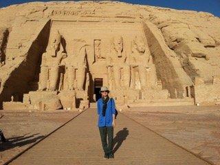 Abu Simbel. Photo: Joanie Maro.
