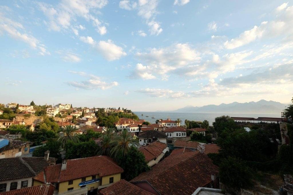 Antalya's old town.