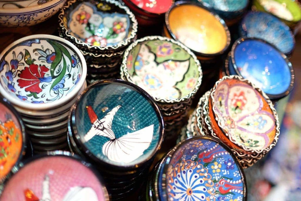 Istanbul is a shopper's paradise with handicrafts from all over the country sold at the Grand Bazaar. Istanbul.