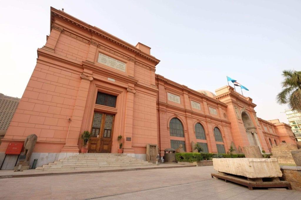 Cairo Museum. Photo: Genevieve Hathaway.
