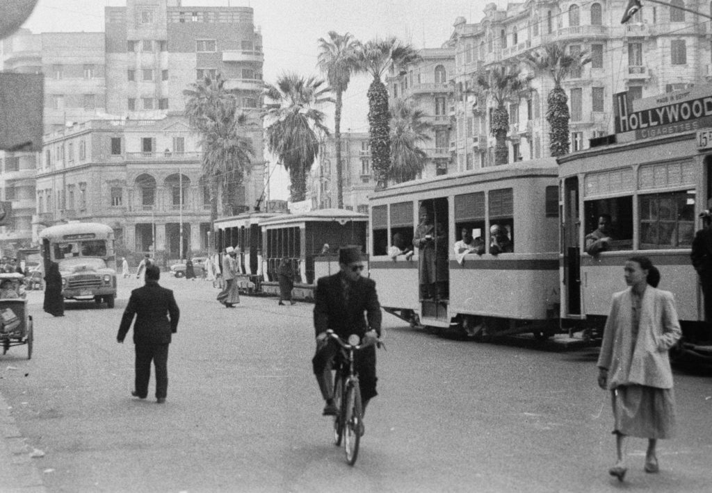 Cairo in 1950. Photo: Egyptian Streets