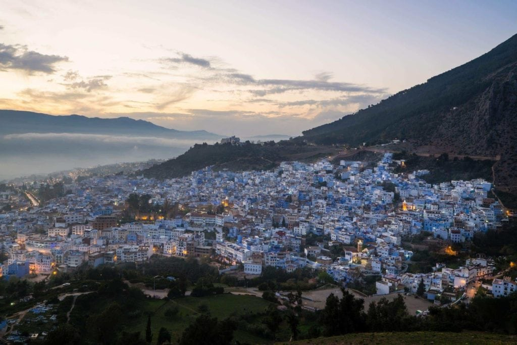 Genevieve Hathaway_Morocco_Chefchaouen_Blue Hour