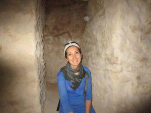 Exploring underneath Pompeii's Pillar.