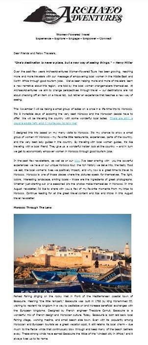 Nov Newsletter