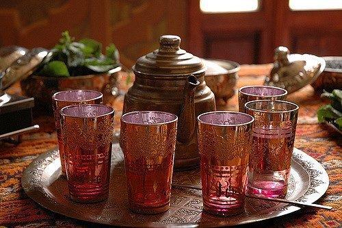 Morocco Mint tea. Marrakech, Morocco. ArchaeoAdventures.