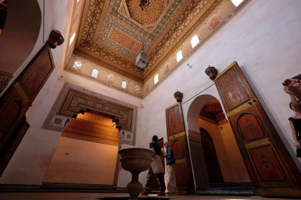 Bahia Palace. Morocco, Marrakech. ArchaeoAdventures Tours.