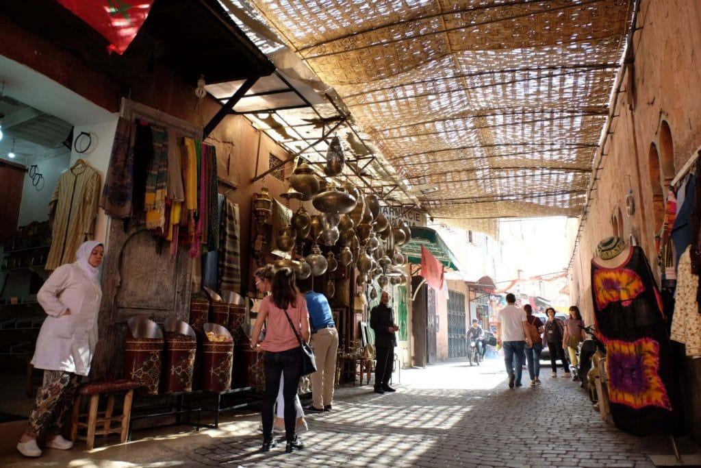 Marrakech medina. Morocco. ArchaeoAdventures Tours.