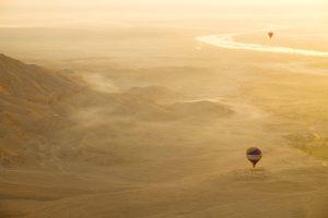 2015 Egypt Hot Air Balloon over Luxor