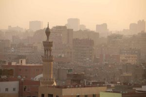 Skyline of Old Cairo. Photo: Genevieve Hathaway Photography.