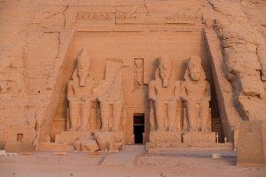 Egypt Abu Simbel at sunrise